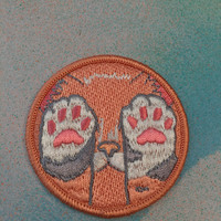 Cat Paws Iron-on Patch