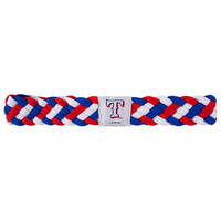 Texas Rangers MLB Braided Head Band 6 Braid