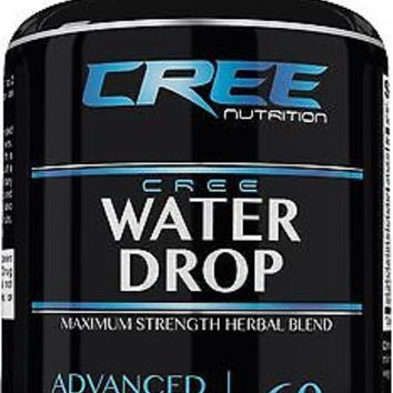 CREE Nutrition Water Drop Supplement for Weight Loss Health Support - 60 Pills