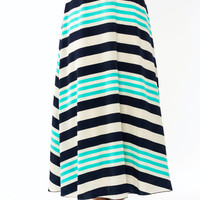 Striped Just Right Maxi Skirt GoJane.com