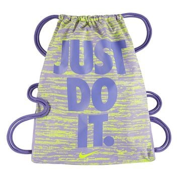 Nike Just Do It. Graphic Drawstring Bag