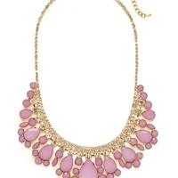 Lilac Snow Collar - Necklaces - All Jewelry