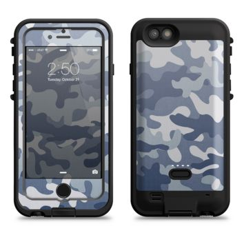 The Traditional Snow Camouflage  iPhone 6/6s Plus LifeProof Fre POWER Case Skin Kit