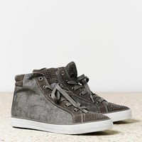 AEO Women's Studded High Top (Grey)