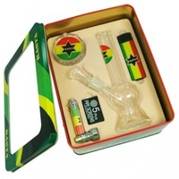 Smoking Giftset Rasta Flag - Gift Sets - 36.99 US and Canada