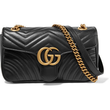 Gucci - GG Marmont small quilted leather shoulder bag