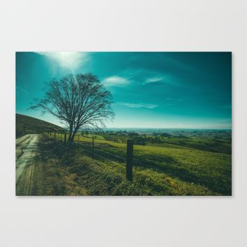 The Walk Home Canvas Print by Mixed Imagery