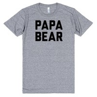 Papa Bear (1/2) Couple Shirt