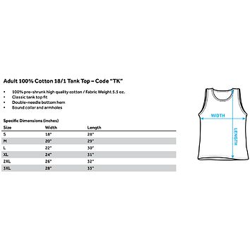 Teen Titans Go - T Adult Tank Top Officially Licensed Apparel