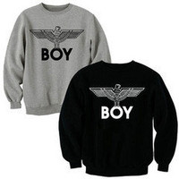 London boy sweatshirt jumper pullover unisex xs by Littlekathmandu