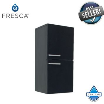 Fresca Bathroom Linen Side Cabinet w/ 2 Storage Areas