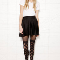 Henry Holland Gingham Over-The-Knee Sock Tights