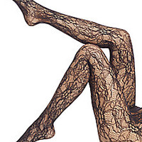 Wolford - Floral Lace Net Tights - Saks Fifth Avenue Mobile