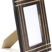 SouvNear Picture / Photo Frames 4x6 - Mango Wood Picture Frame with Stand Double Use for Horizontal Vertical Pictures - Antique Look Distressed Finish for Living Room Table Top Centrepiece - Clearance Gift Items