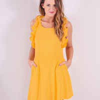 She's Sunshine Dress - Yellow
