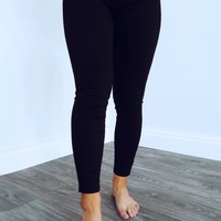 Careless Whisper Jeans: Black