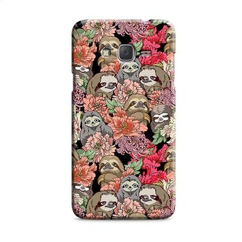 Because Sloth Flower Samsung Galaxy J7 2015 | J7 2016 | J7 2017 Case