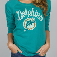 NFL Miami Dolphins Field Goal Fleece w/ Embroidery -  - Junk Food Clothing