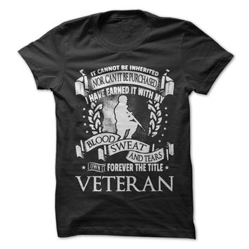 Forever the Title Veteran - T-Shirt