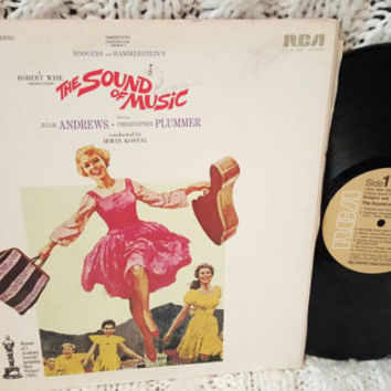 The Sound of Music Original Soundtrack vinyl record (NT)