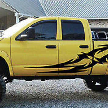 Custom Designed Tattoo Tribal Truck vinyl graphics SUV will fit any car tr009