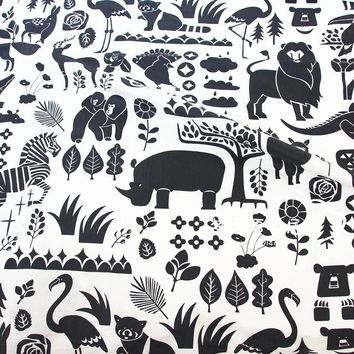 50x160cm Lion King Animals Cartoon Cotton Fabric For Quilting Sewing Baby Bedding Sheet Pillows Cover Blanket Sewing Material