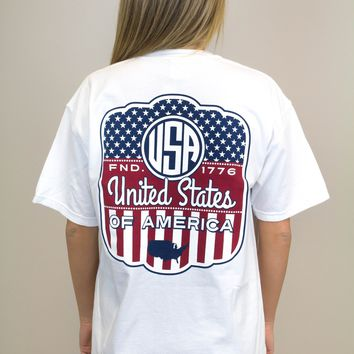 USA Pocket Tee
