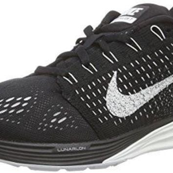 NIKE WOMENS LUNARGLIDE 7 BLACK/SUMMIT WHITE/ANTHRACITE RUNNING SHOE 9.5 WOME...