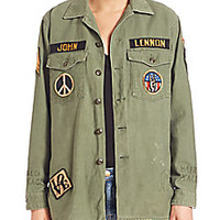 MADEWORN - John Lennon Army Jacket - Saks Fifth Avenue Mobile