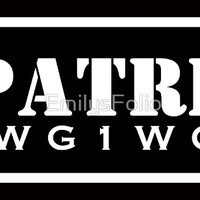 'QANON PATRIOT WWG1WGA ITEMS' by EmilysFolio