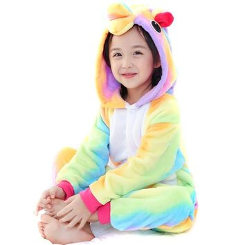 Cute Kigurumi Animal Kid Onesuit Pajamas for Teen Boy & Girl Costume Cosplay Outfit