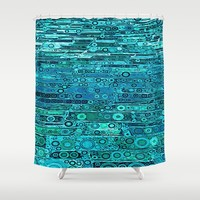 :: Tropical Sea :: Shower Curtain by :: GaleStorm Artworks ::