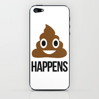It Happens iPhone & iPod Skin by LookHUMAN