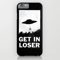 Get In Loser iPhone & iPod Case by Moop
