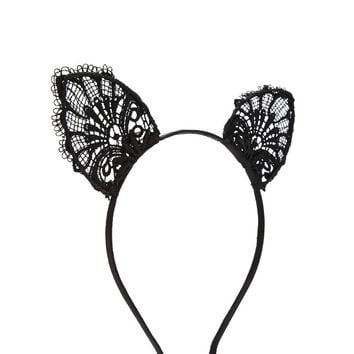 Ornate Crochet Ear Headband