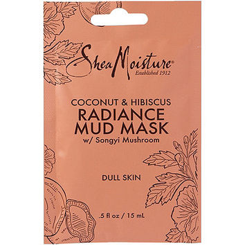 SheaMoisture Coconut & Hibuscus Radiance Mud Mask Packette
