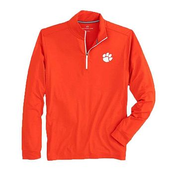 Clemson Quarter Zip Pullover by Southern Tide