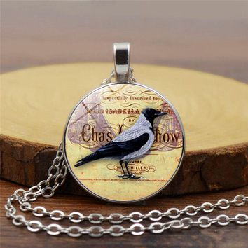 New hot sale pigeon necklace pendant symbolizes peace and love a beautiful day statement necklace jewelry holiday gift