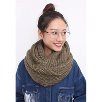 d/s by Drive Store™ Gold Lurex Chunky Knitted Snood