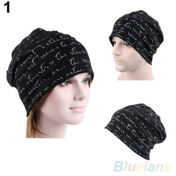 Men's Women's Unisex Hip-Hop Warm Winter Cotton Polyester Knit Ski Beanie Skull Cap Hat = 1958458820