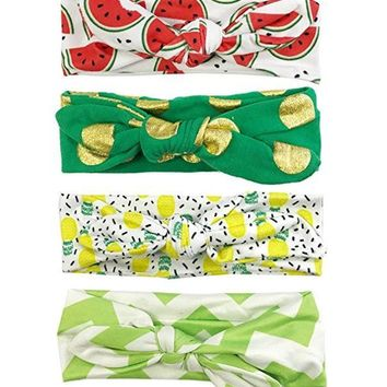 Head Bands Pineapple (Set of 4)