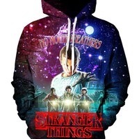 Stranger Things Pullover Art Hoodie