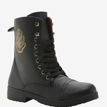 Harry Potter Hogwarts Combat Boots
