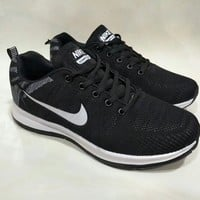 """""""Nike"""" Unisex Sport Casual Fashion Flyknit Sneakers Couple Running Shoes"""