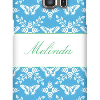 Personalized Butterfly Galaxy S6 Edge Plus Slim Case