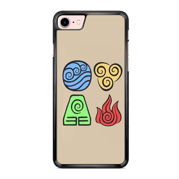Avatar The Last Airbender Symbols iPhone 7 Case