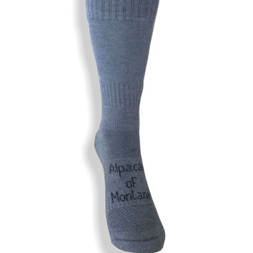Alpaca Excursion Socks - Breathable, Wicking, Cooling
