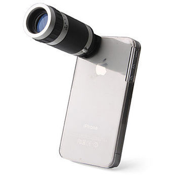 [US$ 12.99] Telescope 6X Zoom Camera + Case Holder for iPhone 4 / 4S