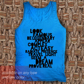 Famous Casual Wear Sporty Cool Tank top Funny Tank Cute Direct to garment