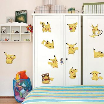 Pokemon Go Wall Stickers for Kids Rooms